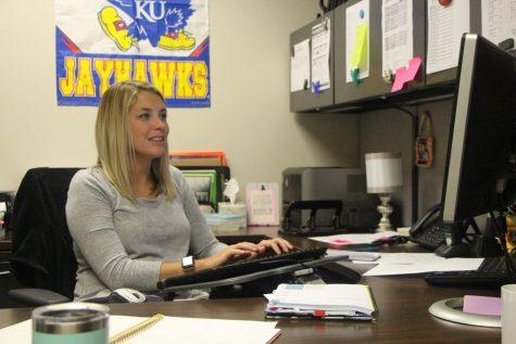 Former math teacher Megan Geenens fills new interventionist position