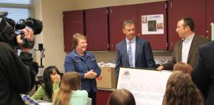 Child development Teacher Cecilia Jaggard Receives Grant