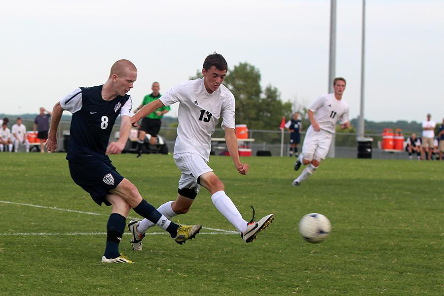 Boys soccer loses to St. James in second round of Fat Cat Tournament