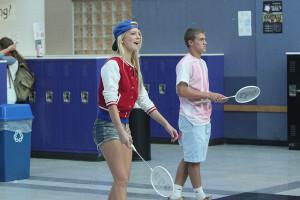 Smitten with badminton