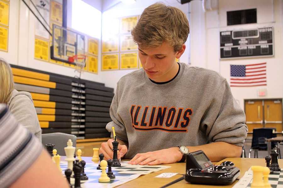 Chess team takes second
