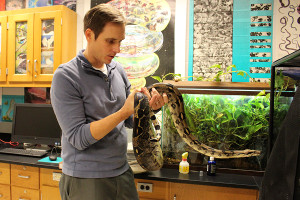 Creatures in the classroom