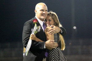 Calen Lawrence crowned Homecoming Queen