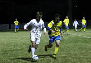 Boys soccer wins on Senior Night