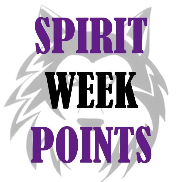 Spirit Week Points