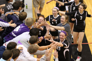 Volleyball wins sub-state tournament