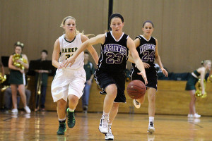 Girls basketball team faces loss to Shawnee Mission South in first game of the season