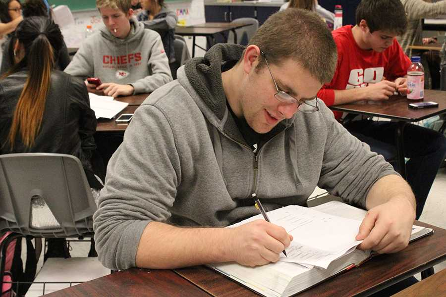 Study hall enrollment restricted for 2014-2015 school year