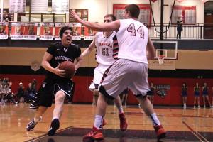 Boys basketball defeats Blue Valley West