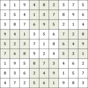 February Sudoku Answers