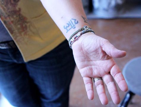 Teachers with tattoos
