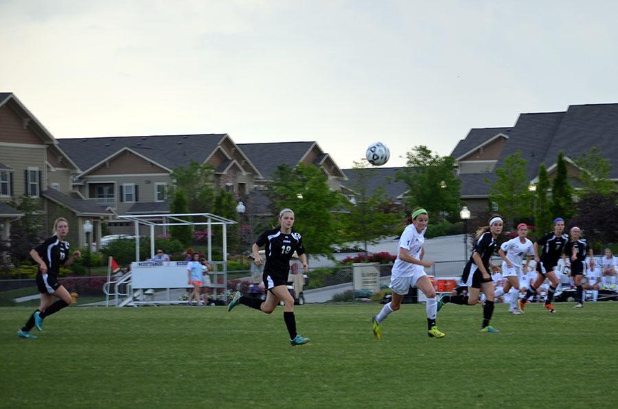 Girls soccer defeats BVW at quarterfinals