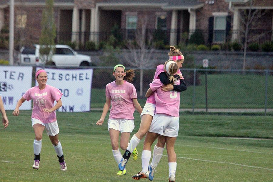 Girls soccer celebrates annual Pink Out Game