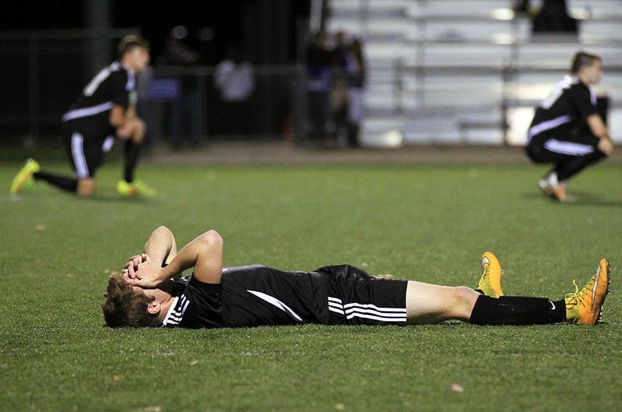 Boys varsity soccer defeated by Washburn Rural in state semifinal