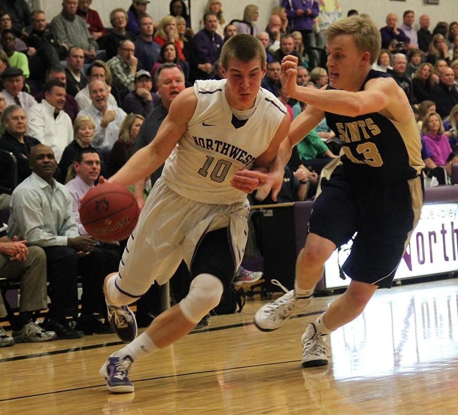 Photo gallery: varsity boys basketball vs. STA
