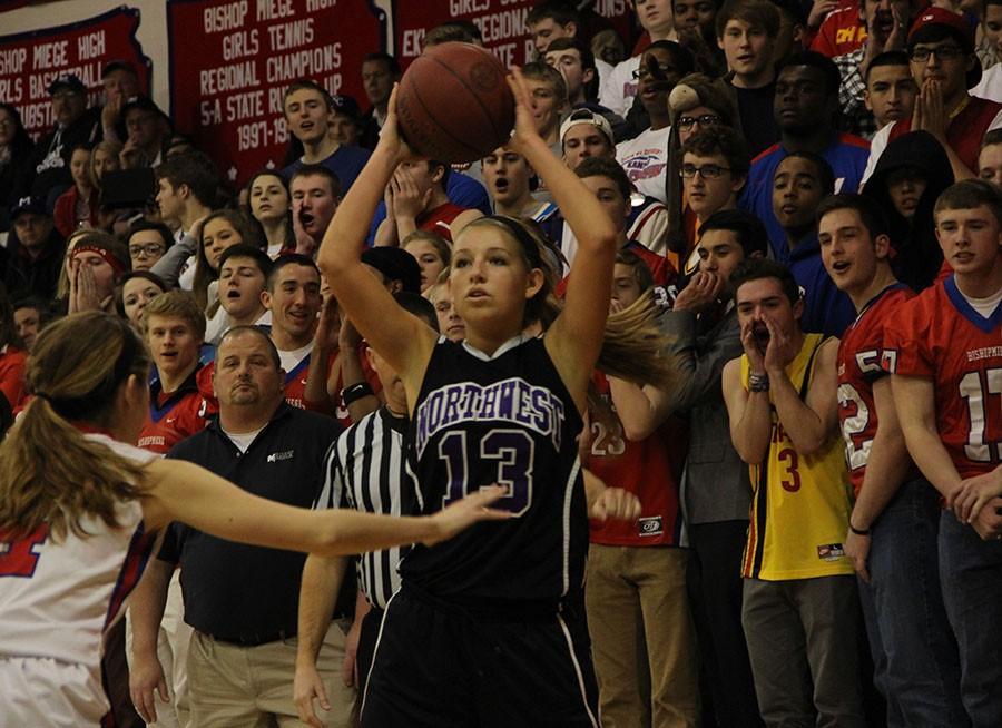 Photo gallery: girls varsity basketball vs. Bishop Miege