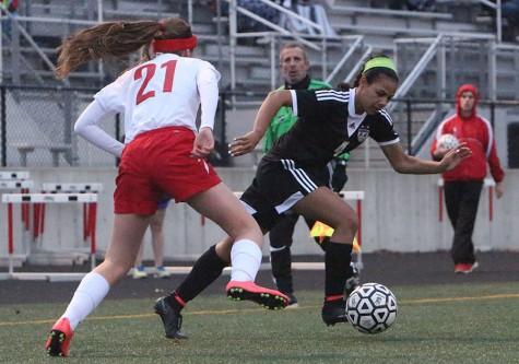 Photo Gallery: girls varsity soccer vs. Bishop Miege