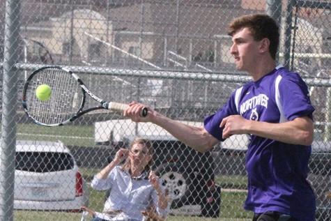 Photo gallery: boys varsity tennis vs. BVN