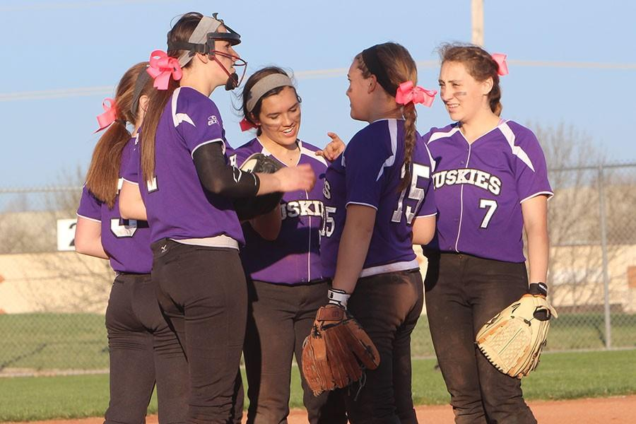 Varsity softball wins and loses in double header