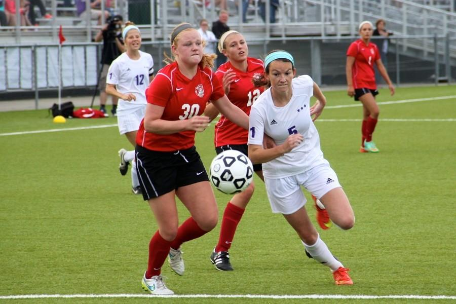 Girls soccer defeats Maize in state semifinals