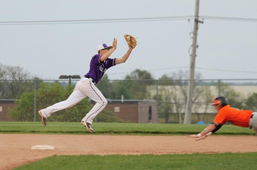 Photo gallery: varsity baseball vs. Shawnee Mission Northwest