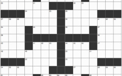 Weekly crossword: Sept. 4