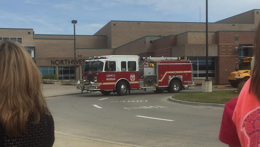Firefighters were dispatched to BVNW to respond to the fire alarm.