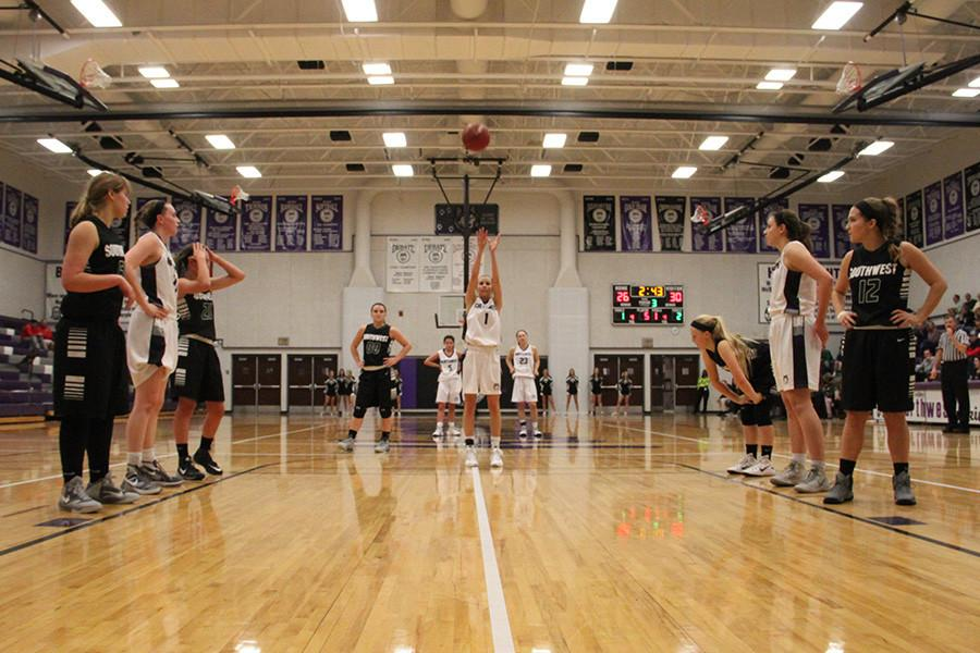 Girls+basketball+begins+season+with+a+victory