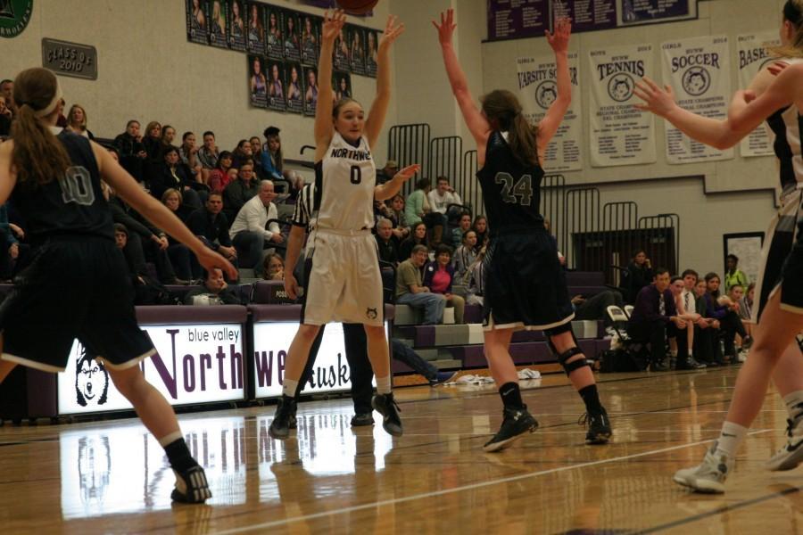 Girls varsity basketball defeats BVN 49-32