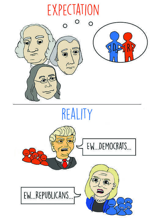Political cartoon: Unintended intentions