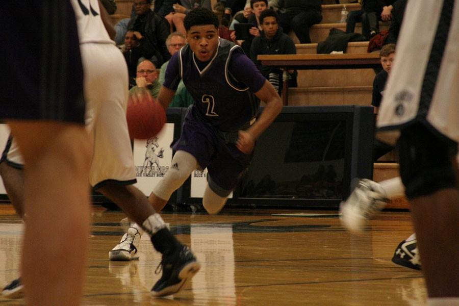 Boys varsity basketball defeats BVN 64-57