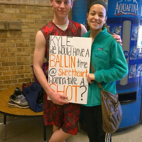 Asking to the Sweetheart dance