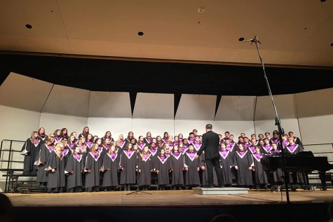 Listen to songs from the year's last choir concert