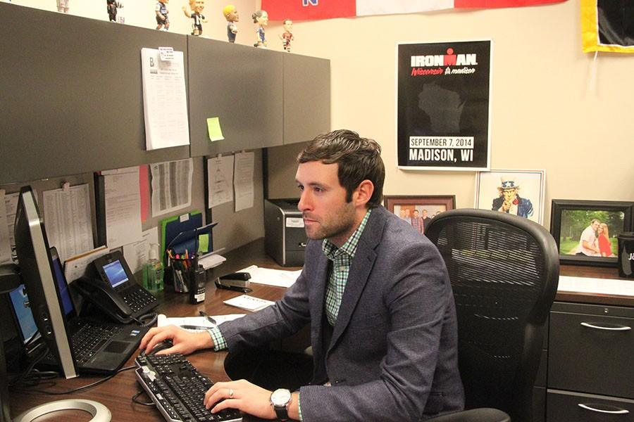 Administrative Intern Tyler Alexander will take the position of activities director next year.