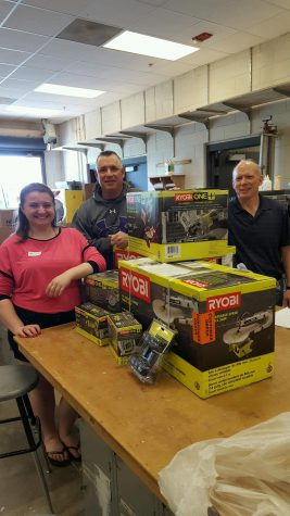 Woods program receives donation from Ryobi company