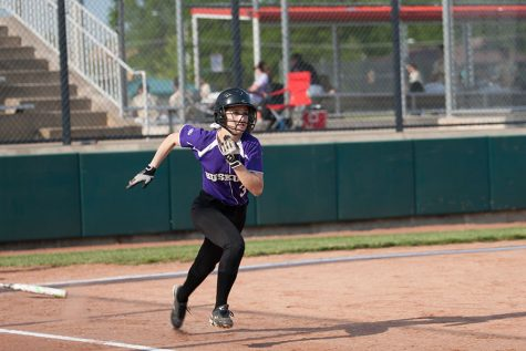 Softball defeated by Aquinas in double header