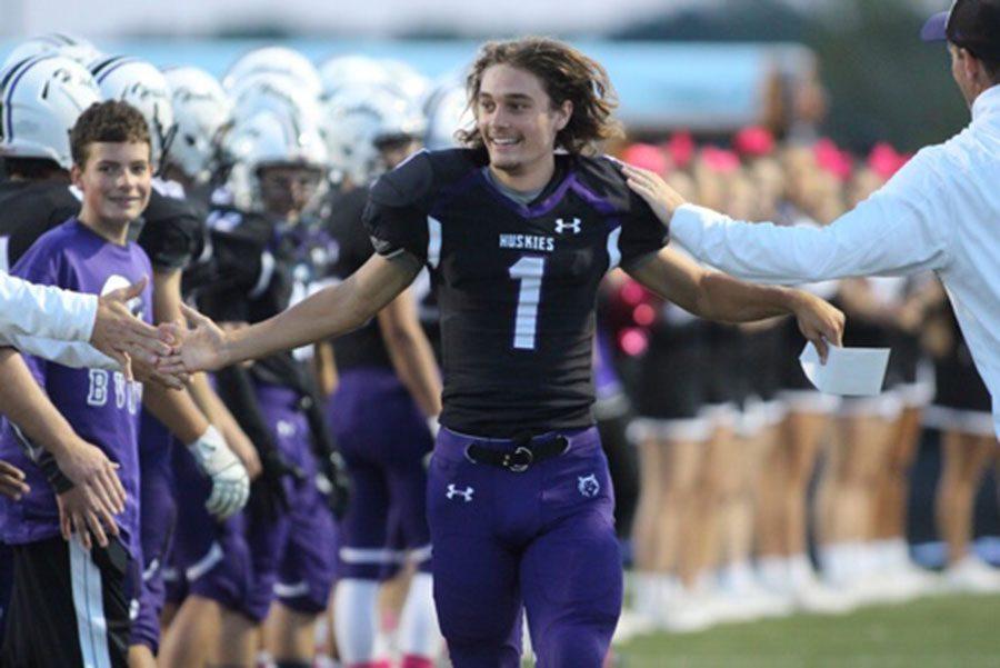 Varsity football loses Senior Night game against Blue Valley, 7-42