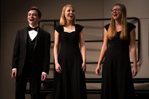 Choir performs their Winter Concert in the PAC