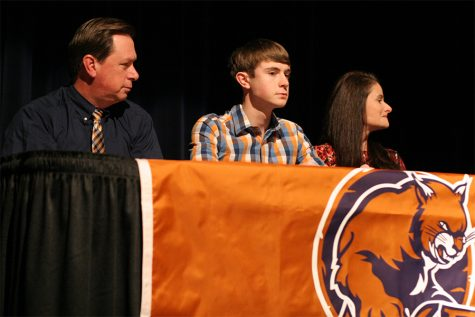 Five student athletes sign their national letters of intent