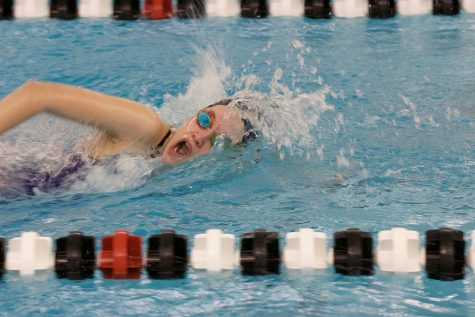 Girls swimming edges out Blue Valley, 93-92