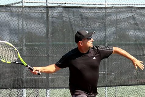 Coach Fabiano leads girls tennis team