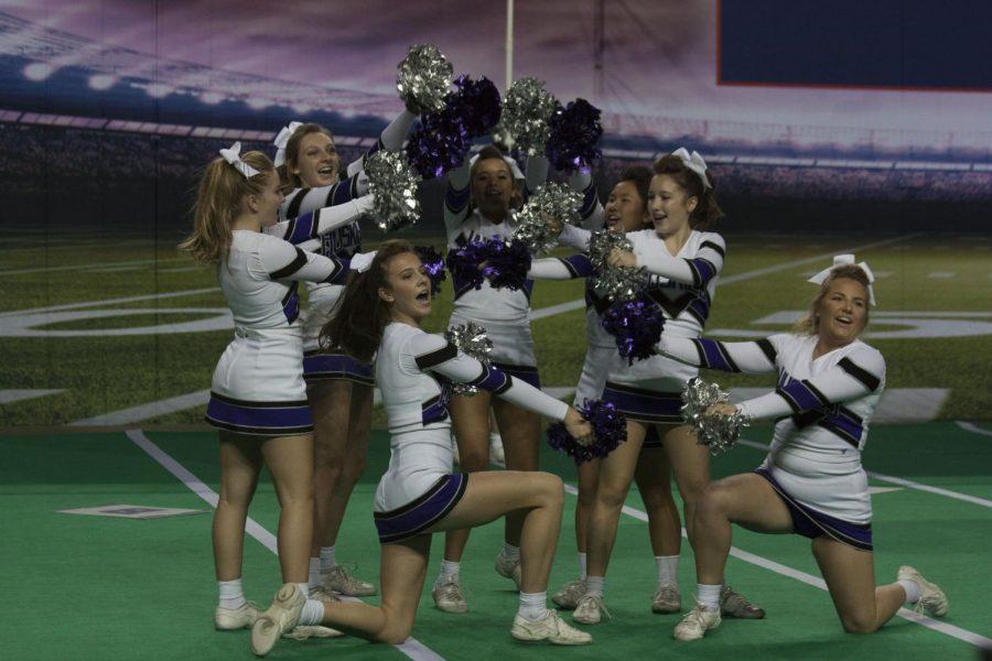 BVNW cheerleaders perform at cheer state Nov. 18.