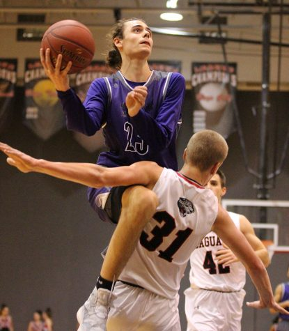 Blue Valley Northwest senior forward Parker Braun will have to avoid foul trouble this year.