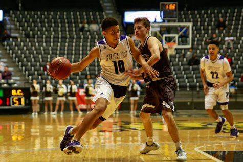 After spending most of the 2016-17 season on the bench, senior guard Max Johnson will need to play a larger role for the Huskies this year.