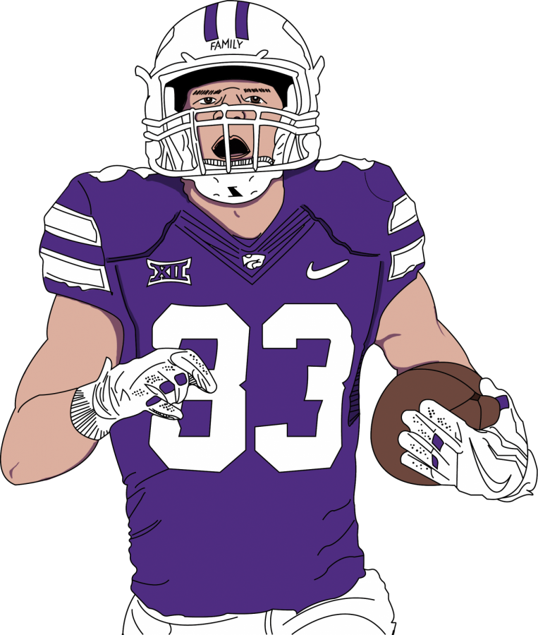 2015+BVNW+graduate+Dalton+Schoen+has+made+a+name+for+himself+at+Kansas+State+after+walking+on+to+the+Wildcats+roster.+