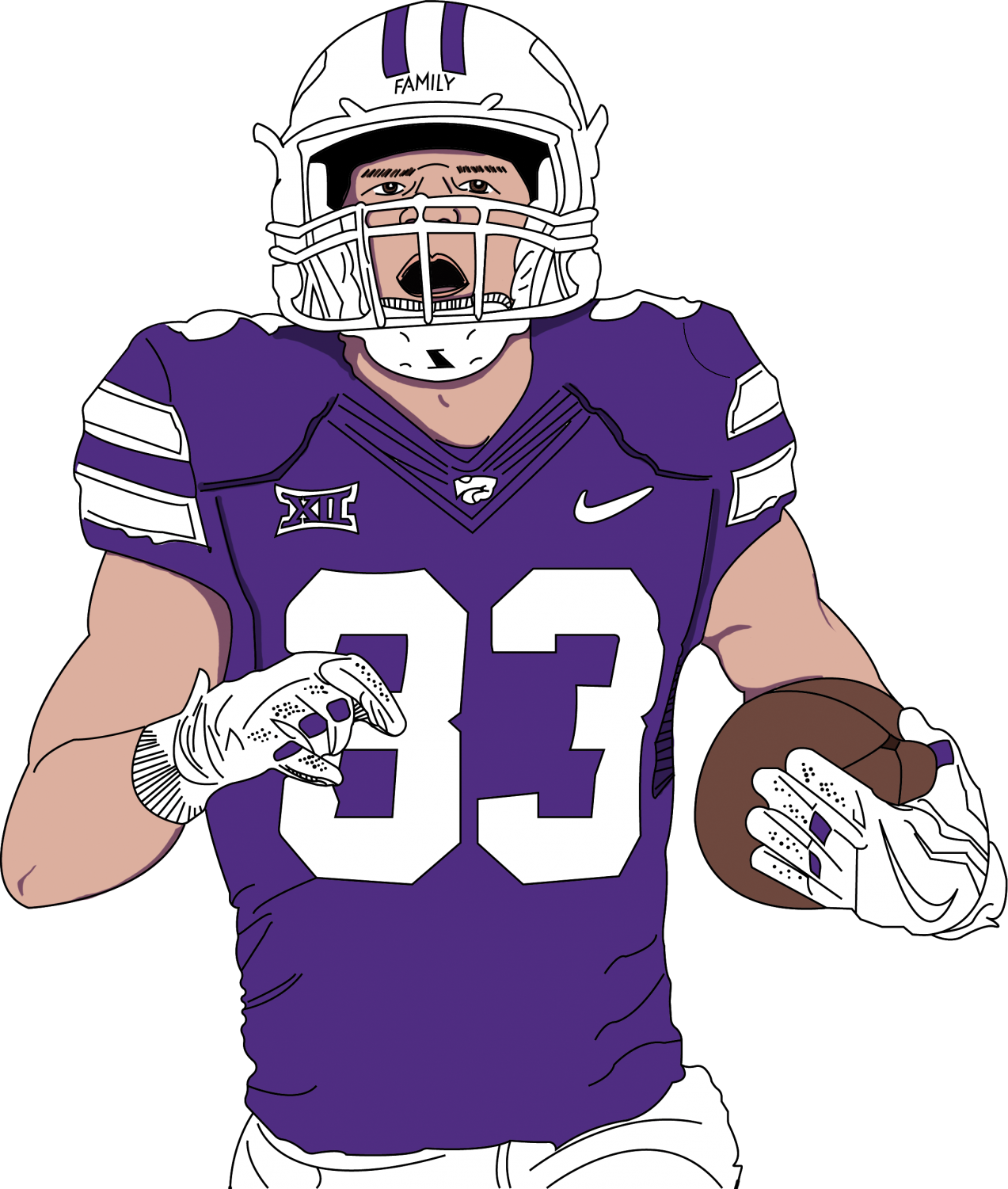 2015 BVNW graduate Dalton Schoen has made a name for himself at Kansas State after walking on to the Wildcats roster.