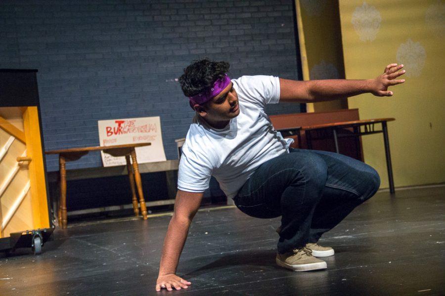 Junior Ishaan Haldar is a member of the improv club. He is also the Junior class treasurer.