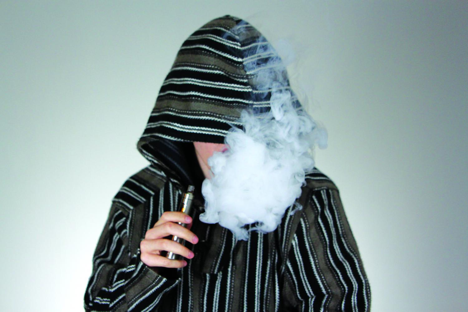 Different types of vapes produce different amounts of vapor.