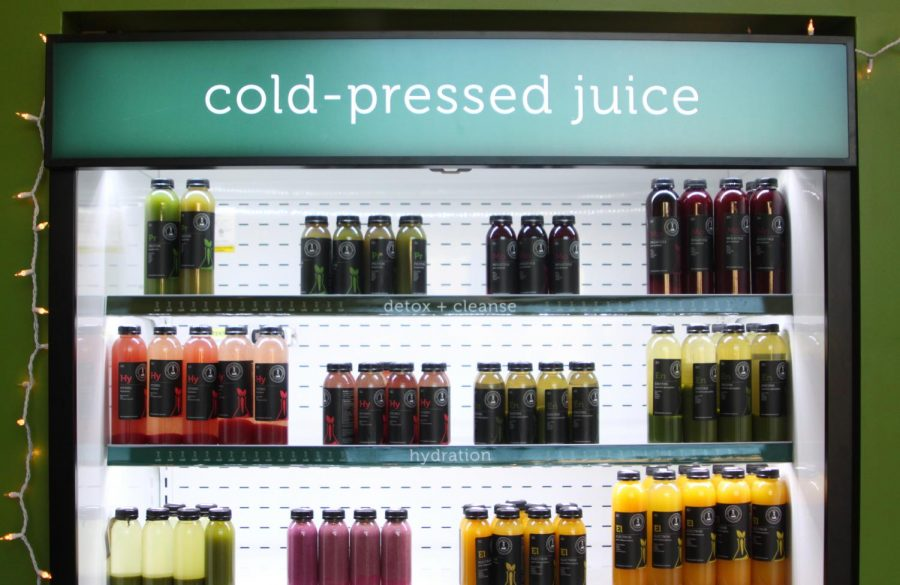 Simply Science Juices offers a variety of juices, coffees and milks.