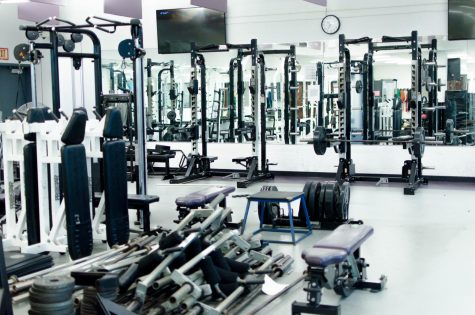 Weight room undergoes renovations during winter break